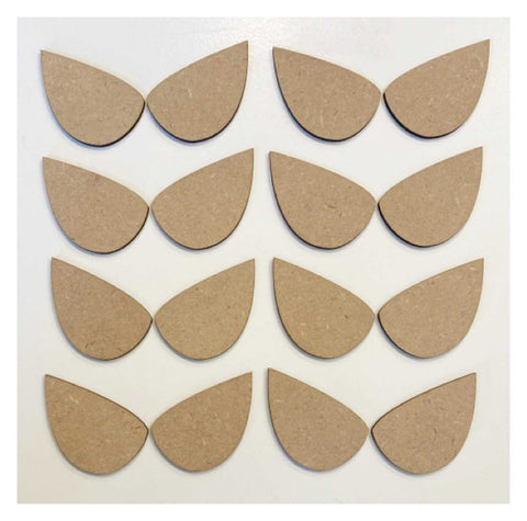 Eye Super Hero x 6 Raw MDF Wooden DIY Craft