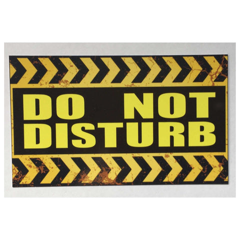 Do Not Disturb Rustic Wall Plaque or Hanging - The Renmy Store