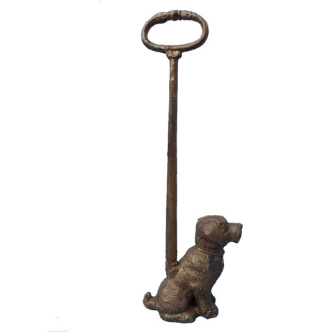 Dog Door Stop with Handle