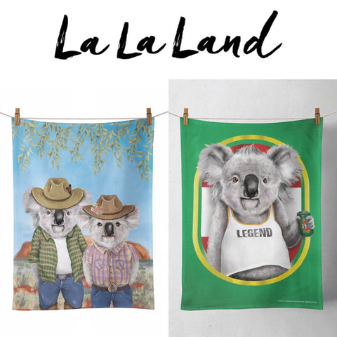 Tea Towel Koala Set