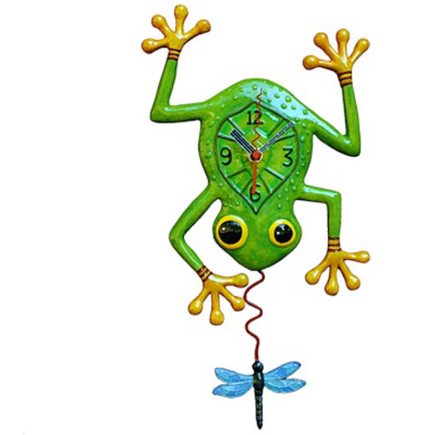 Clock Wall Frog Vintage Funky Retro | The Renmy Store