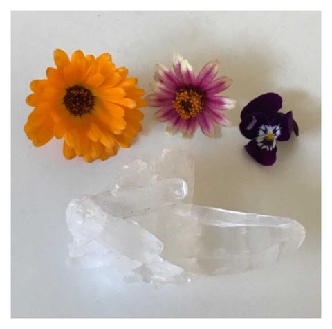 Crystal Clear Quartz Natural 6