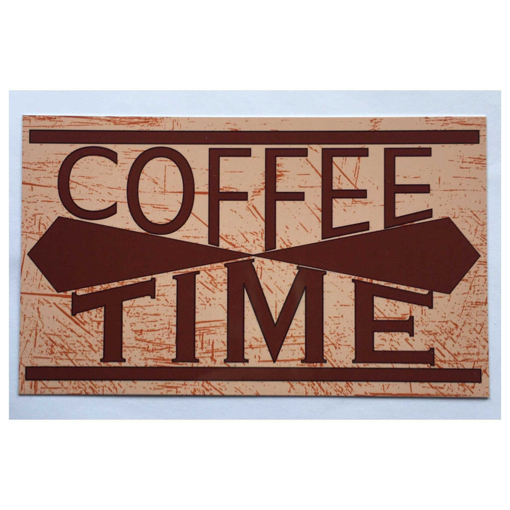 Coffee Time Sign Plaque Or Hanging - The Renmy Store