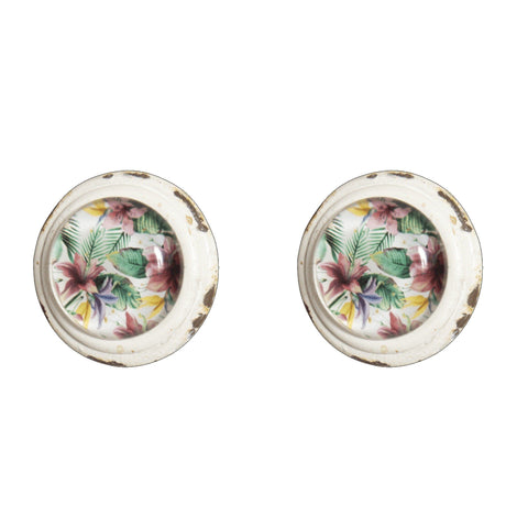 Knob DIY Set of 2 Tropical Paradise