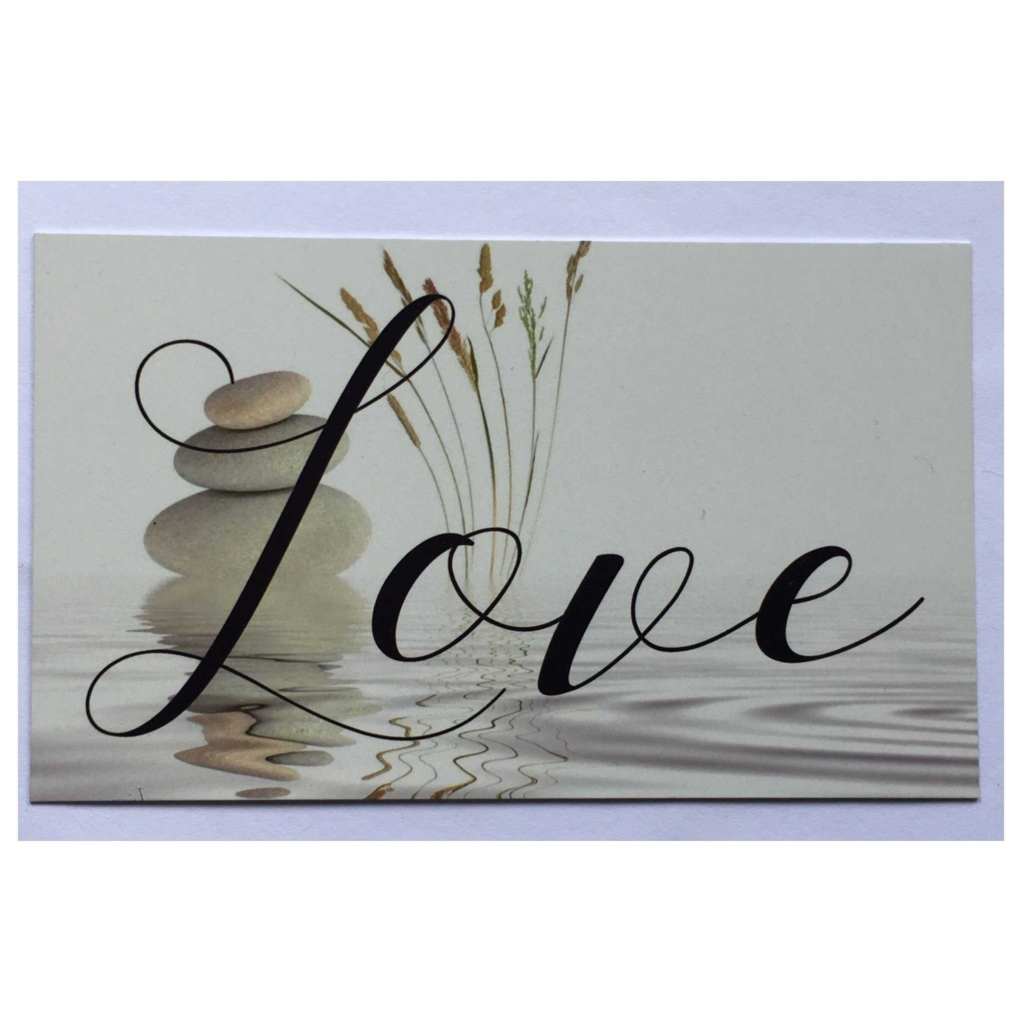 Love Zen Sign Wall Plaque Or Hanging Plaques & Signs The Renmy Store