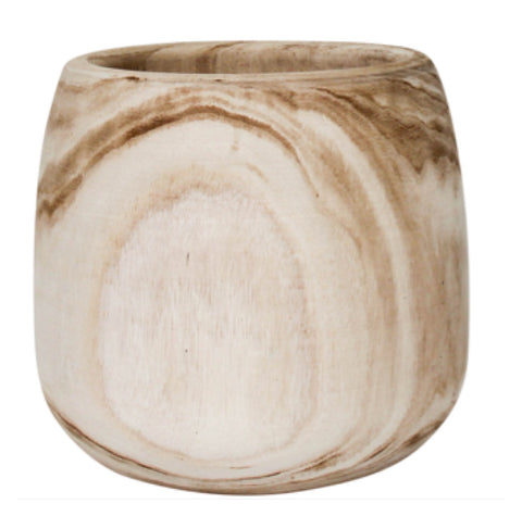 Pot Plant Natural Wood | The Renmy Store