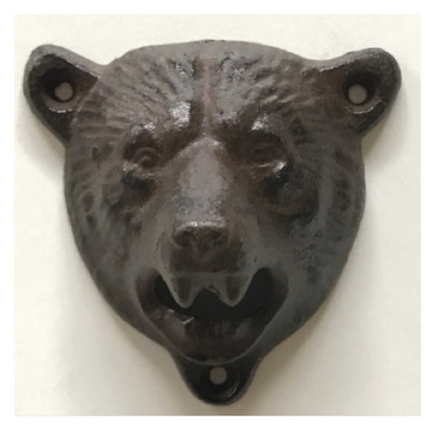 Bear Wall Bottle Opener