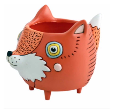 Fox Funky Pot Plant