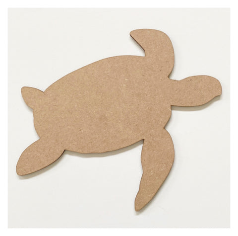 Turtle Raw MDF Wooden DIY Craft