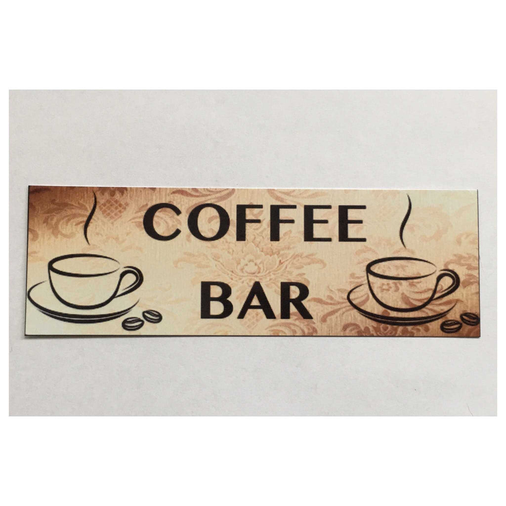 Coffee Bar Sign Wall Plaque Or Hanging - The Renmy Store