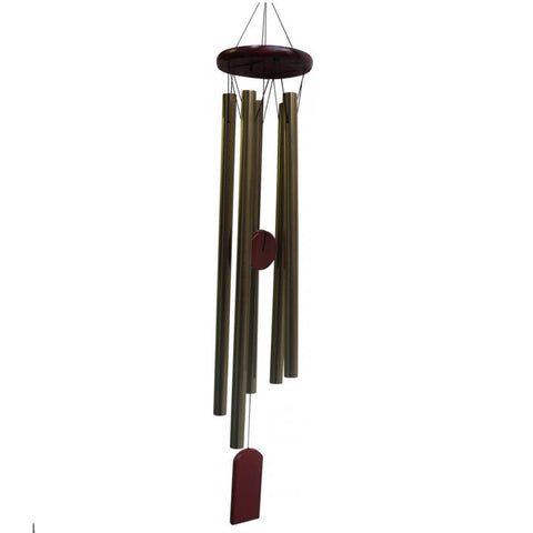 Burgundy Wind Chime Classic Hanging