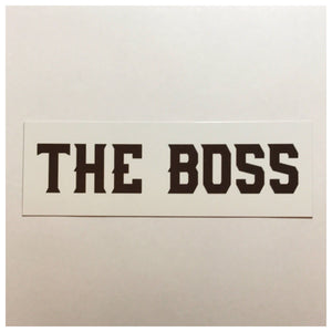The Boss Door Office Sign