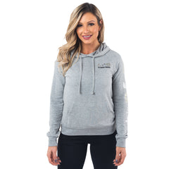 Fitness Queen French Terry Pullover Hoodie - Grey