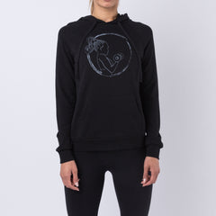 Strong Girl Hoodie - Black