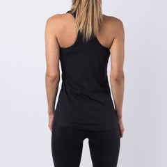 Slay Racerback Tank Top - Black
