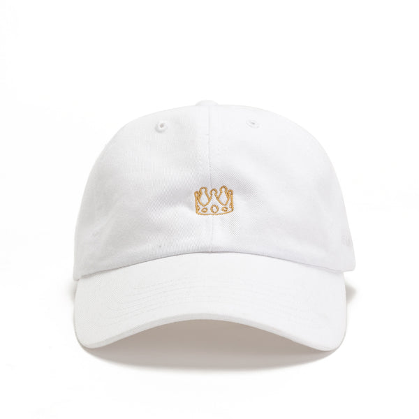 Fitness Queen Dad Hat - White