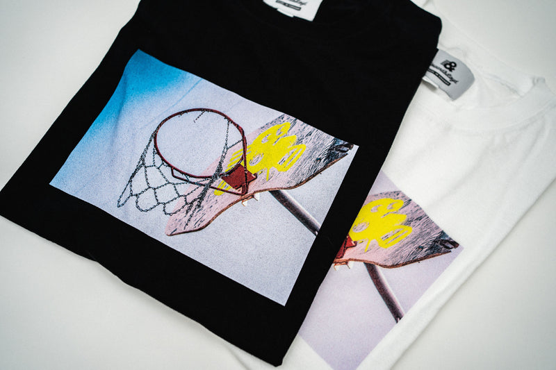 King Rose X H&L Playground Tee - White