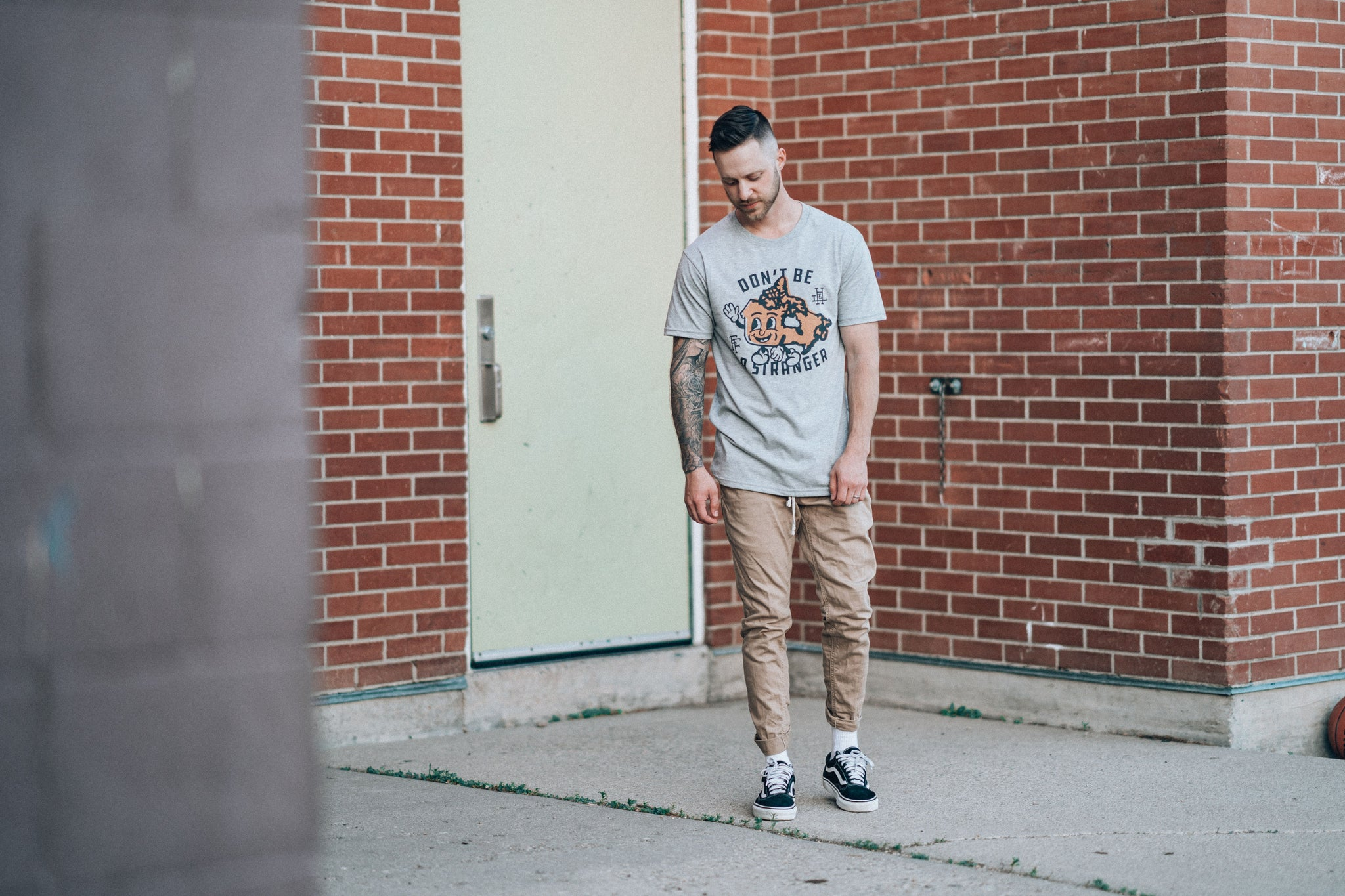 Flannel Foxes Collab Tee
