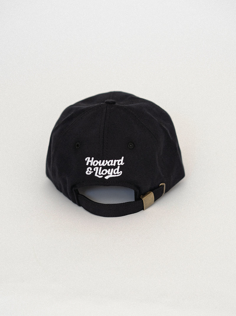 Black Lucy Unstructured Hat
