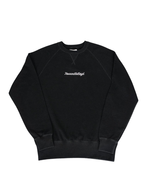 Black Yardstick Crewneck