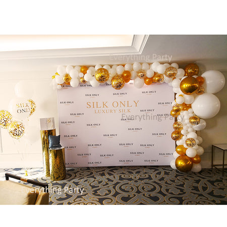 Organic Balloon Garland for Business Event