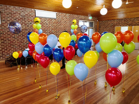 Helium Balloon arrangement