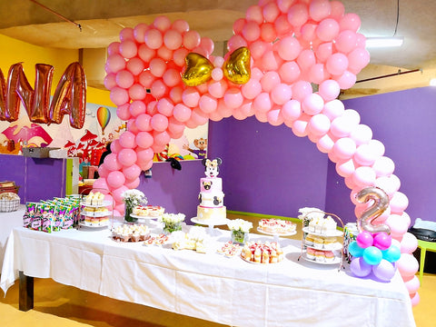 Minnie Mouse Theme 2nd Birthday Party At Money Mania
