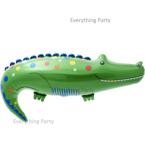 Crocodile shape foil balloon