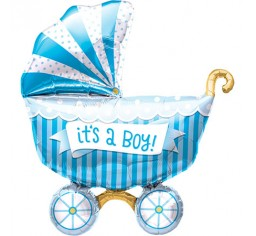 It's a Boy Pram balloon