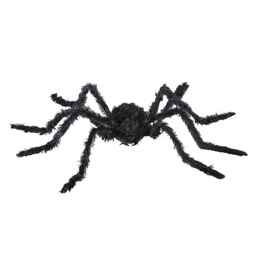 Animated Black Spider Moving Legs & Light Eyes & Sound