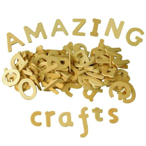 craft alphabets