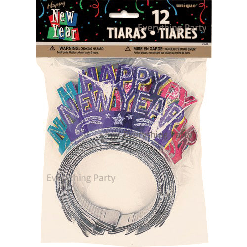 happy new year tiaras, happy new year hat