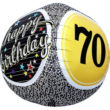 17 Extra Round Happy 70th Birthday Foil Balloon Everything Party