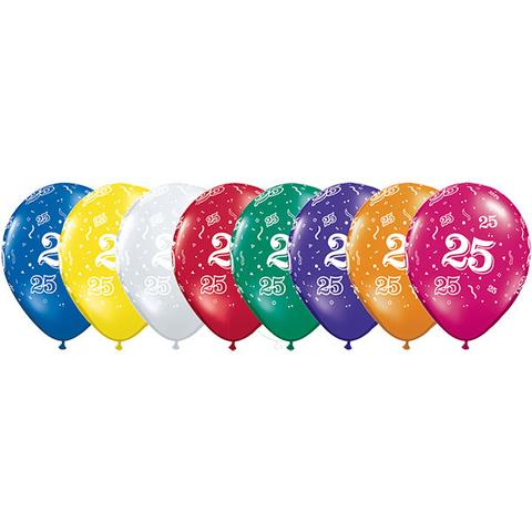 25th birthday balloon
