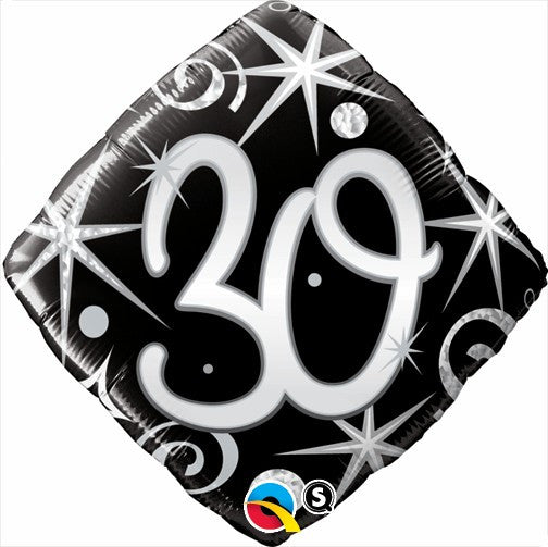18 Happy 30th Birthday Cushion Shape Foil Balloon Everything Party
