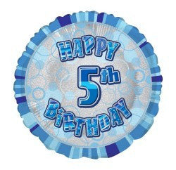 5th birthday balloon