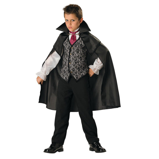 child black vampire cape