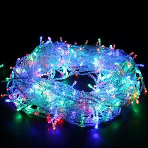 200 Super Bright LED Icicle String Lights - Multi Colour