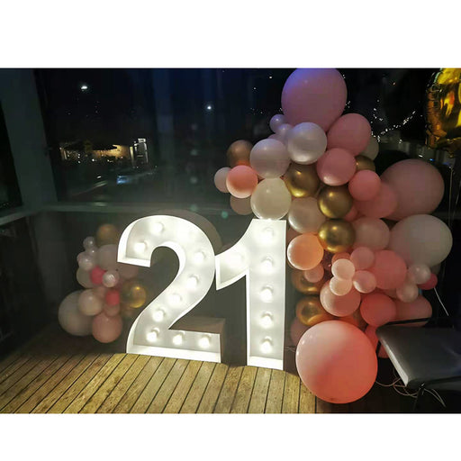 21st birthday arch