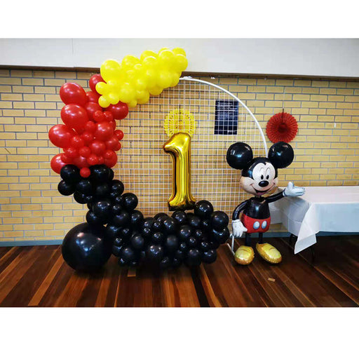 Mickey mouse balloon garland