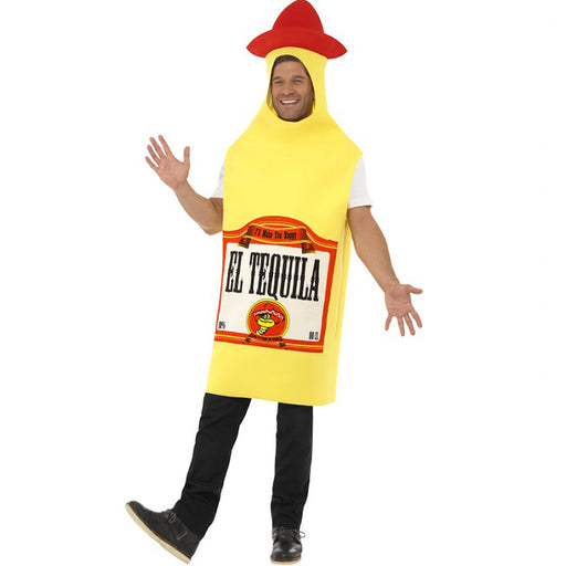 Mexican tequila bottle man costume