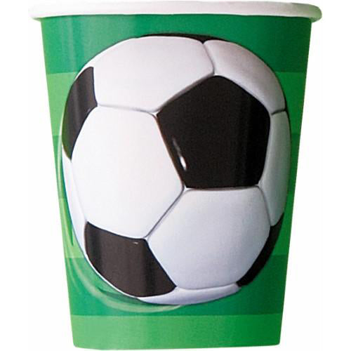 soccer ball paper cups