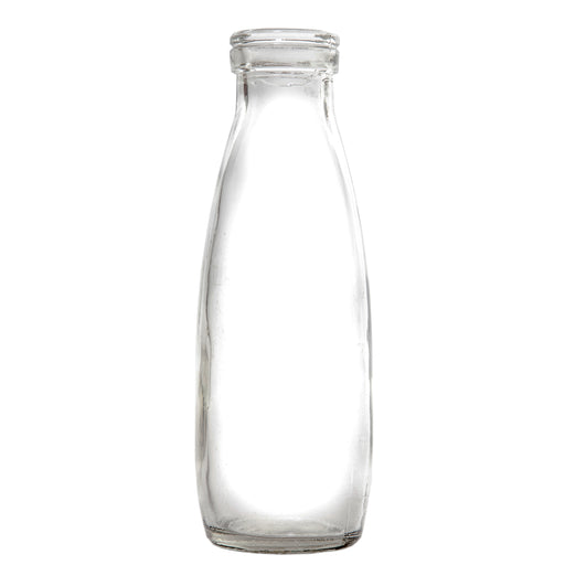 500ml Glass Milk Bottle with Plastic Lid