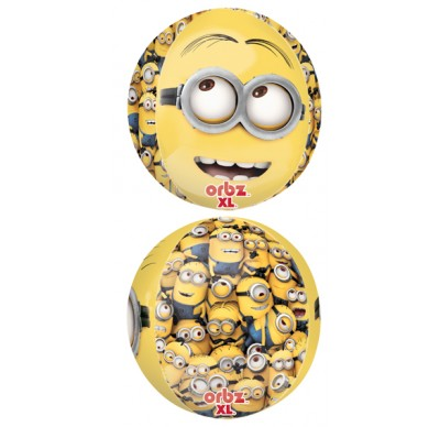 minion helium balloon