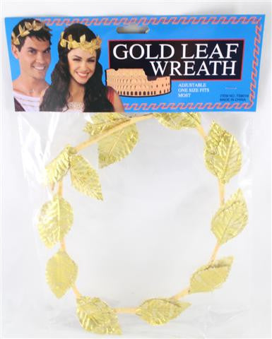 Gold Leaf Wreath