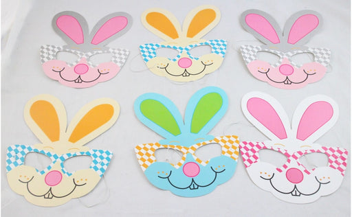 6pcs Easter Bunny Mask