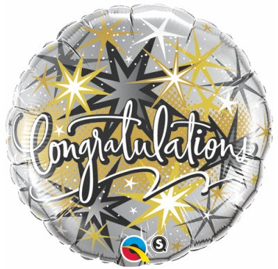 congratulation balloon, elegant congratulation balloon