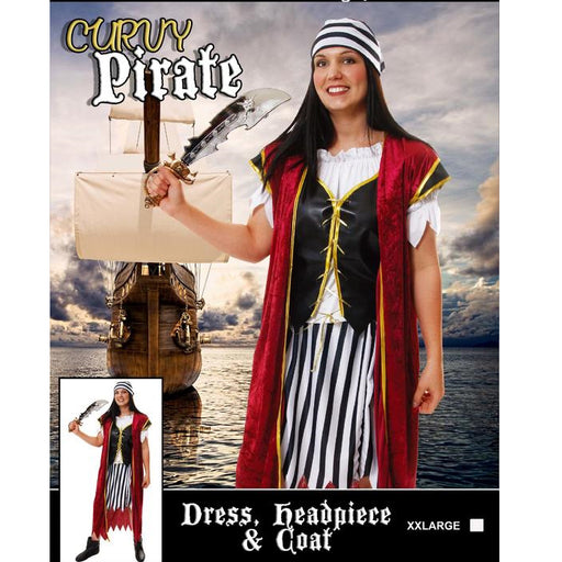 plus size pirate costume, lady pirate costume