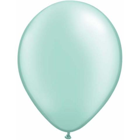 mint green balloon