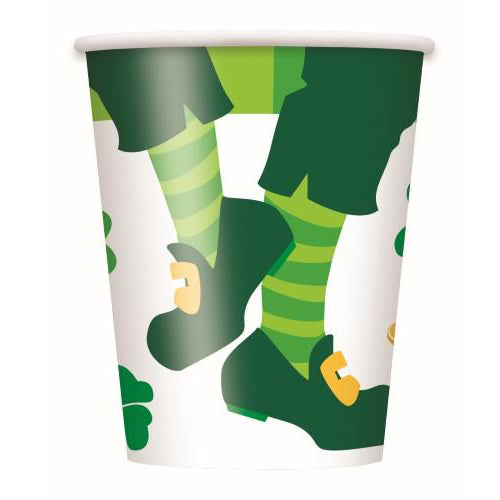 st patrick's day paper cups